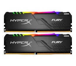 Pamięć RAM DDR4 HyperX 16GB (2x8GB) 2666MHz CL16 Fury RGB