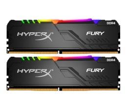 Pamięć RAM DDR4 HyperX 16GB 3200MHz Fury RGB CL16 (2x8GB)