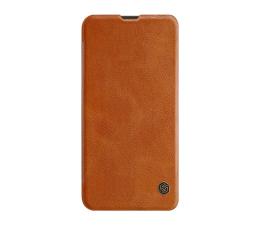 Etui / obudowa na smartfona Nillkin Etui Skórzane Qin do Xiaomi Mi A3 brązowy