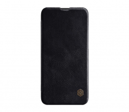 Etui/obudowa na smartfona Nillkin Etui Skórzane Qin do Xiaomi Mi A3 czarny