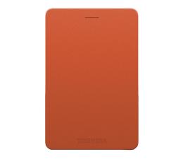 Dysk zewnetrzny/przenośny Toshiba Canvio Alu 500GB USB 3.0 czerwony