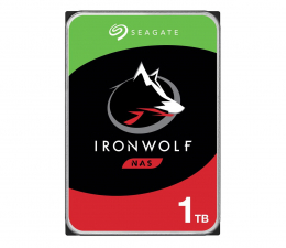 Dysk HDD Seagate IRONWOLF 1TB 5900obr. 64MB