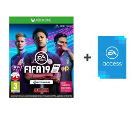 Gra na Xbox One Microsoft FIFA 19 - Kupon + EA Access