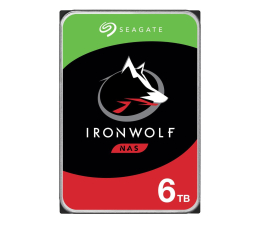 Dysk HDD Seagate IRONWOLF 6TB 5400obr. 256MB