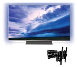"""Telewizor 44"""" - 55"""" Philips 55PUS7504 +uchwyt ART AR-24"""