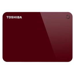Dysk zewnetrzny/przenośny Toshiba Canvio Advance 3TB USB 3.0 czerwony