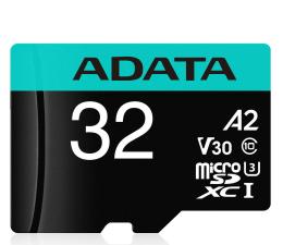 Karta pamięci microSD ADATA 32GB microSDHC Premier Pro 100MB/s U3 V30S A2