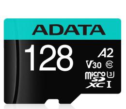 Karta pamięci microSD ADATA 128GB Premier Pro U3 V30S A2 + adapter