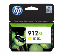 Tusz do drukarki HP 912XL Yellow 825str