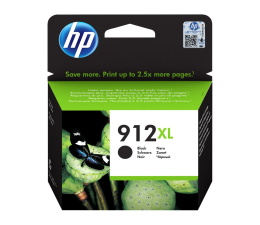 Tusz do drukarki HP 912 XL Black 825str