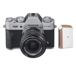 Bezlusterkowiec Fujifilm X-T30 + 15-45mm + Instax Share SP-2  złota