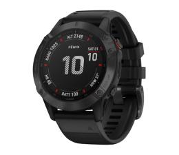 Zegarek sportowy Garmin Fenix 6 PRO stalowoszary - czarny Gorilla Glass