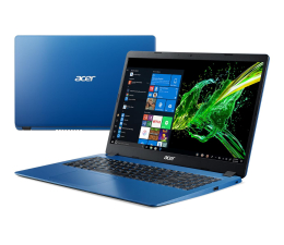 "Notebook / Laptop 15,6"" Acer Aspire 3 i3-10110U/4GB/256/W10 Niebieski"