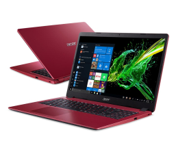 "Notebook / Laptop 15,6"" Acer Aspire 3 i3-10110U/4GB/256/W10 Czerwony"
