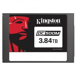 "Dysk SSD  Kingston 3,84TB 2,5"" SATA SSD DC500M"