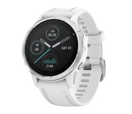 Zegarek sportowy Garmin Fenix 6S srebrno - biały