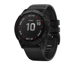 Zegarek sportowy Garmin Fenix 6X PRO stalowoszary - czarny Gorilla Glass