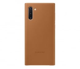 Etui / obudowa na smartfona Samsung Leather Cover do Galaxy Note 10 Camel