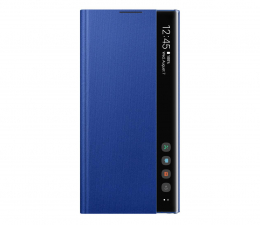 Etui/obudowa na smartfona Samsung Clear View Cover do Galaxy Note 10+ niebieski