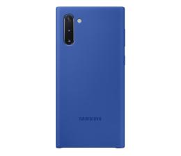 Etui/obudowa na smartfona Samsung Silicone Cover do Galaxy Note 10 niebieski