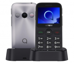 Smartfon / Telefon Alcatel 2019 srebrny