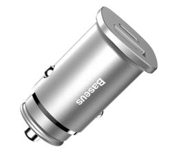 Ładowarka do smartfonów Baseus Ładowarka samochodowa QC 4.0, PD 30W (srebrny)