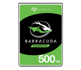 Dysk HDD Seagate 500GB 5400obr. 128MB BarraCuda