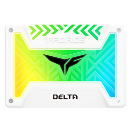 "Dysk SSD Team Group 500GB 2,5"" SATA SSD T-Force Delta RGB White"