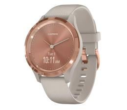 Zegarek sportowy Garmin vivomove 3S różowozłoty - piaskowy