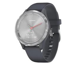 Zegarek sportowy Garmin vivomove 3S srebrny - niebieski