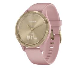 Zegarek sportowy Garmin vivomove 3S złoto - różowy
