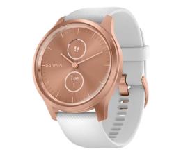 Zegarek sportowy Garmin vivomove 3 Style różowozłoty - biały Gorilla Glass