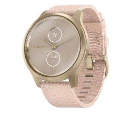 Zegarek sportowy Garmin vivomove 3 Style Light złoto różowy Gorilla Glass