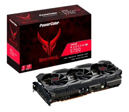 Karta graficzna AMD PowerColor Radeon RX 5700 Red Devil 8GB GDDR6