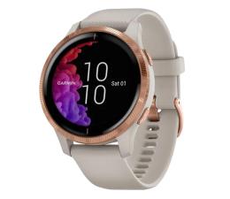 Zegarek sportowy Garmin venu różowozłoty - piaskowy