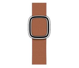 Pasek / bransoletka Apple Pasek skórzany z klamrą do Apple Watch brązowy
