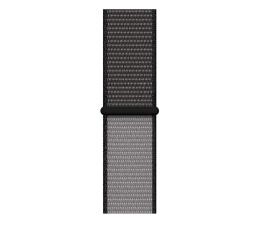 Pasek / bransoletka Apple Opaska sportowa czarna do koperty 40 mm