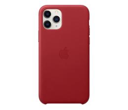 Etui / obudowa na smartfona Apple Leather Case do iPhone 11 Pro (PRODUCT)RED