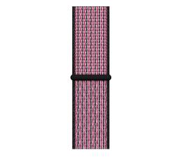 Pasek / bransoletka Apple Opaska sportowa Nike różowa do koperty 40 mm