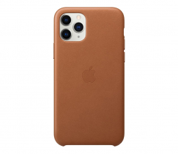 Etui/obudowa na smartfona Apple Leather Case do iPhone 11 Pro Saddle Brown
