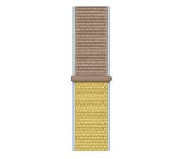 Pasek / bransoletka Apple Opaska sportowa jasno brązowa do koperty 40 mm