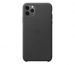 Etui/obudowa na smartfona Apple Leather Case do iPhone 11 Pro Max Black