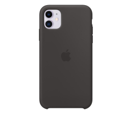Etui/obudowa na smartfona Apple Silicone Case do iPhone 11 Black