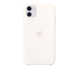 Etui/obudowa na smartfona Apple Silicone Case do iPhone 11 White