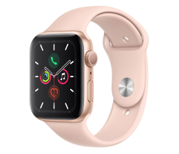 Smartwatch Apple Watch 5 44/Gold Aluminium/Pink Sport GPS