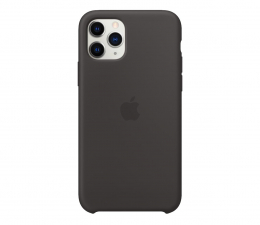 Etui/obudowa na smartfona Apple Silicone Case do iPhone 11 Pro Black