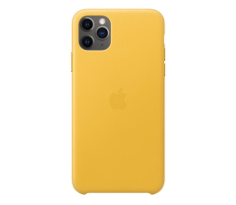 Etui / obudowa na smartfona Apple Leather Case do iPhone 11 Pro Max Meyer Lemon