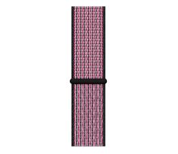 Pasek / bransoletka Apple Opaska sportowa Nike różowa do koperty 44 mm