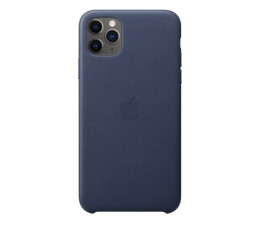 Etui / obudowa na smartfona Apple Leather Case do iPhone 11 Pro Max Midnight Blue