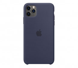 Etui / obudowa na smartfona Apple Silicone Case do iPhone 11 Pro Max Midnight Blue